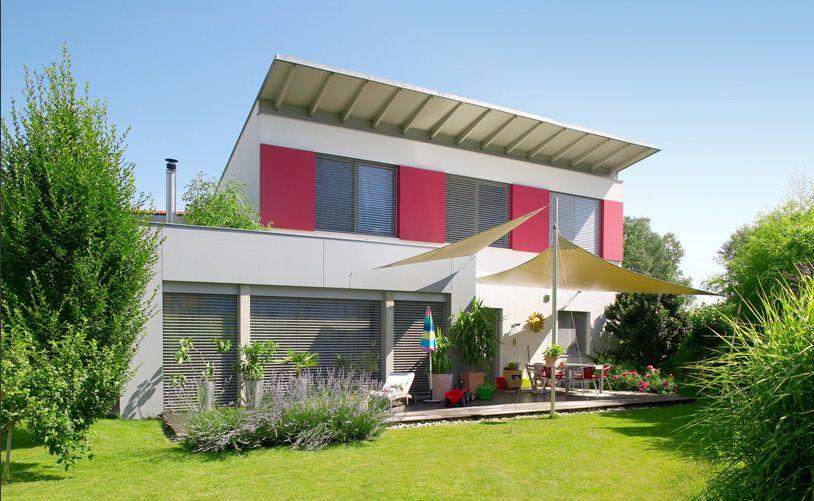 Außenansicht von einem Haus